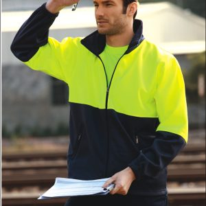 Bocini Polyester Full Zip Fleece Jacket Unisex - SJ1237