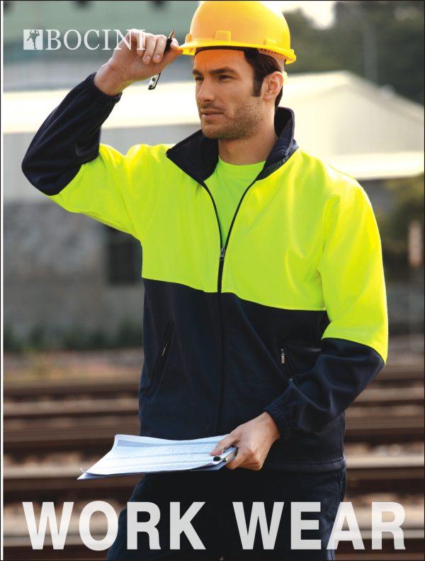Bocini Polyester Full Zip Fleece Jacket Unisex - SJ1237